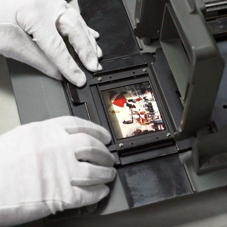 Film to digital scanning service